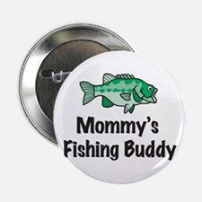 "Mommy's Fishing Buddy 2.25"" Button (10 pack)"