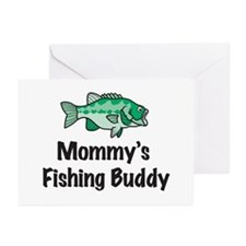 Mommy's Fishing Buddy Greeting Cards (Pk of 10