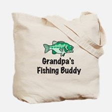 Mommy's Fishing Buddy Tote Bag