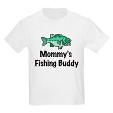 Mommy's Fishing Buddy T-Shirt