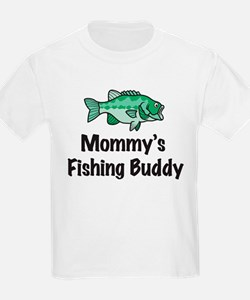 Mommy's Fishing Buddy T-Shirt