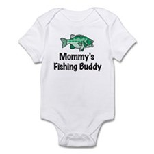 Mommy's Fishing Buddy Infant Bodysuit
