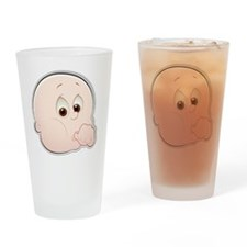 baby face 1-2 Drinking Glass