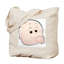 baby face 1-2 Tote Bag