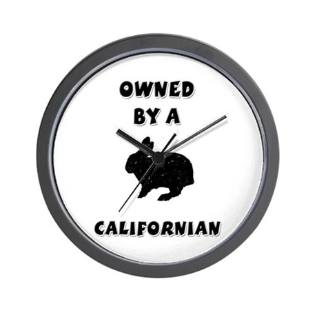 California Rabbit Wall Clock