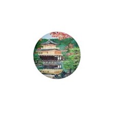 Rokuonji Kinkaku Temple Mini Button