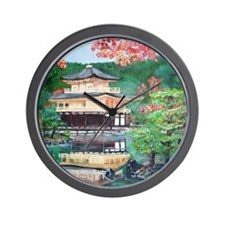 Rokuonji Kinkaku Temple Wall Clock