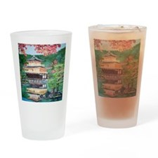 Rokuonji Kinkaku Temple Drinking Glass