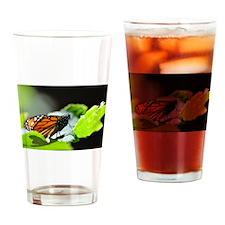 Monarch Butterfly 4 Drinking Glass