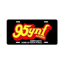95ynf Aluminum License Plate