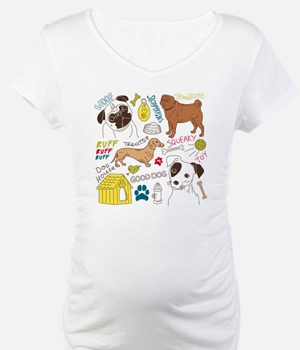 Dogs Colored P Shirt