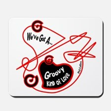 Groovy Love-Phil Collins/t-shirt Mousepad
