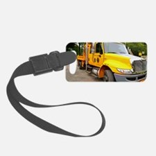 Yellow Truck Luggage Tag