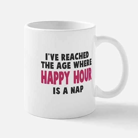 Happy Hour Is A Nap Mug