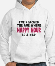 Happy Hour Is A Nap Hoodie