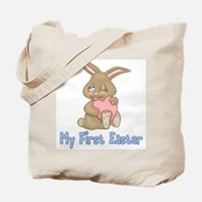 Bunny Hugs First Easter Tote Bag