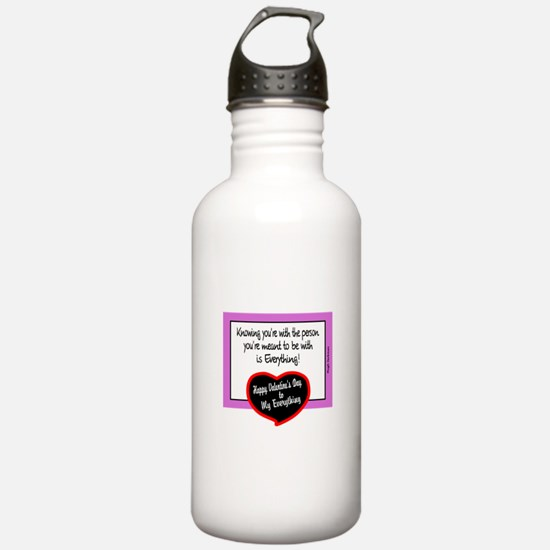 Meant To Be With-Hugh Jackman/t-shirt Water Bottle
