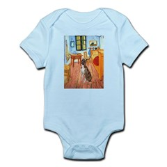 Room with a Boxer Infant Bodysuit