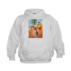 Room with a Boxer Hoodie