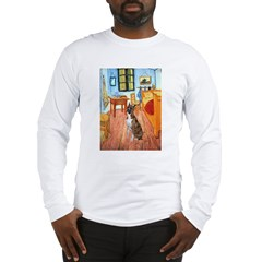 Room with a Boxer Long Sleeve T-Shirt