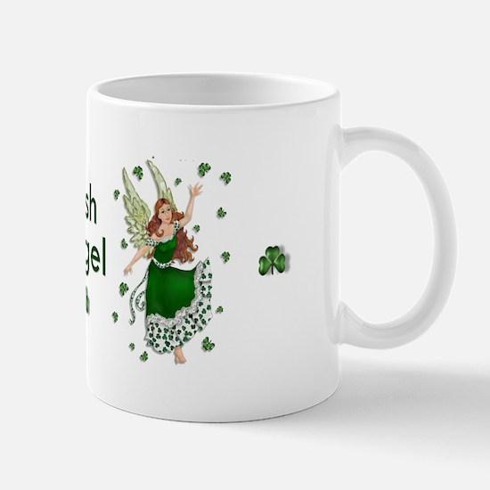Irish Shamrock Angel Mug