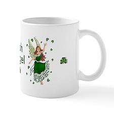 Irish Shamrock Angel Small Mug