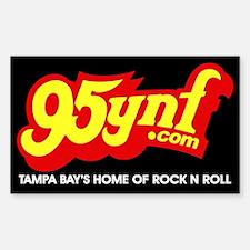 95ynf Black Bumper Decal