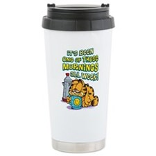 One of Those Mornings Stainless Steel Travel Mug