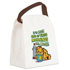 One of Those Mornings Canvas Lunch Bag