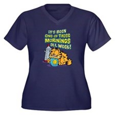 One of Those Women's Plus Size V-Neck Dark T-Shirt