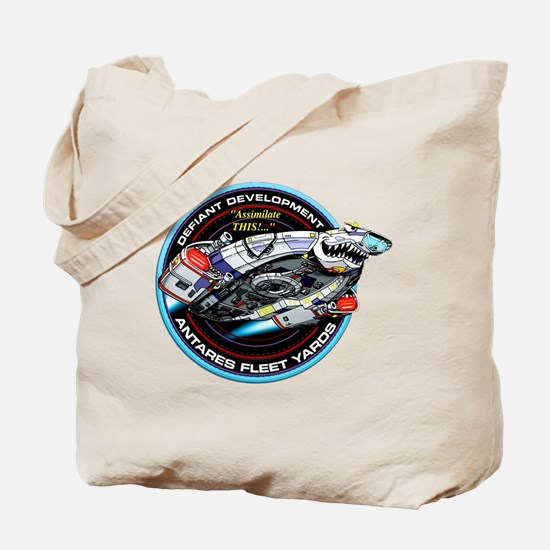 STAR TREK DS9 Logo Tote Bag