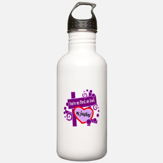 My Everything-Barry White/t-shirt Water Bottle