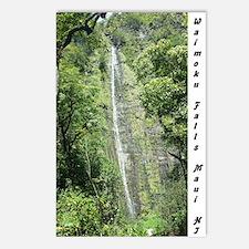 Waimoku Falls2 (Package Postcards (Package Of 8)