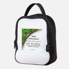 IRISH DIPLOMACY Neoprene Lunch Bag
