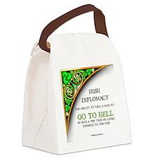 IRISH DIPLOMACY Canvas Lunch Bag