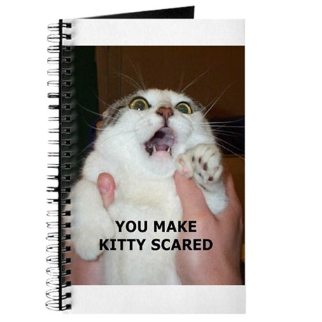 You Make Kitty Scared Journal