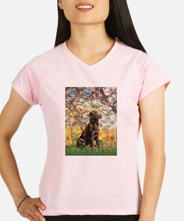 Spring - Chocolate Lab 11 Performance Dry T-Shirt