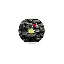 Water Lilies Mini Button
