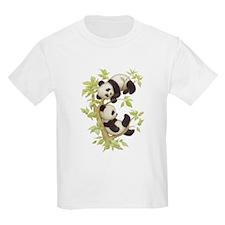 Pandas Playing In A Tree T-Shirt