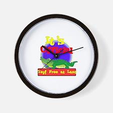 'Free At Last.:-) Wall Clock