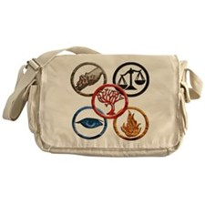 Divergent Messenger Bag
