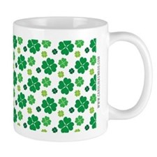 Saint Patricks Day Cute Green Clover Pa Mug