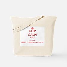 Energy Conservation Officer Tote Bag