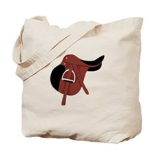 English Hunter Horseback Riding Saddle Tote Bag