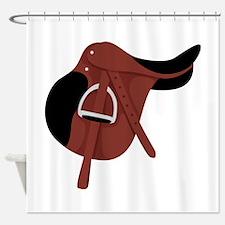 English Hunter Horseback Riding Saddle Shower Curt