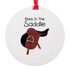 Back In The Saddle Ornament