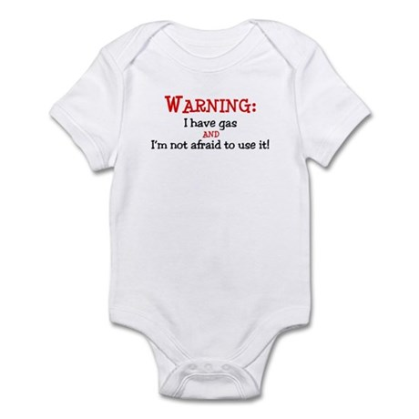 Warning:GAS Infant Bodysuit