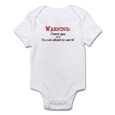 Warning:GAS Infant Bodysuit
