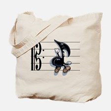 Scaling Note Tote Bag