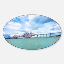 Forth railway bridge near Edinburgh Decal